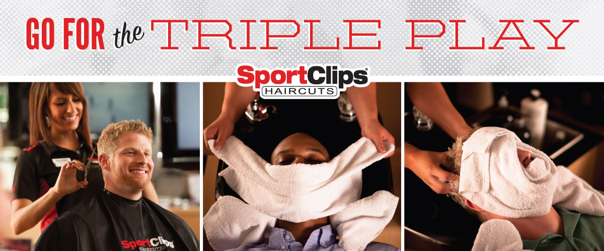 The Sport Clips Haircuts of Glenview  Triple Play